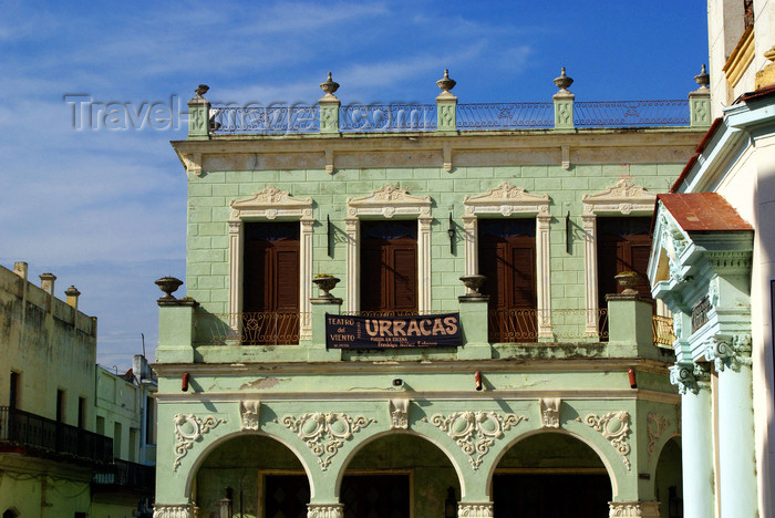 cuba129: Camagüey, Cuba: colonial house - photo by A.Ferrari - (c) Travel-Images.com - Stock Photography agency - Image Bank