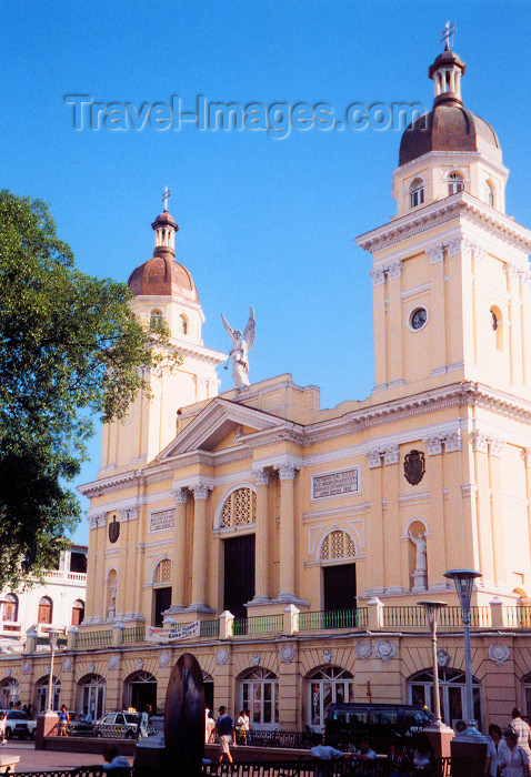 cuba13: Cuba - Santiago de Cuba: Metropolitan Cathedral / catedral - photo by M.Torres - (c) Travel-Images.com - Stock Photography agency - Image Bank
