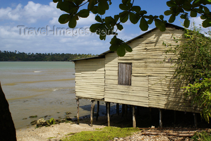 cuba136: Bahia de Mata, near Baracoa, Guantánamo province, Cuba: house on stilts - photo by A.Ferrari - (c) Travel-Images.com - Stock Photography agency - Image Bank