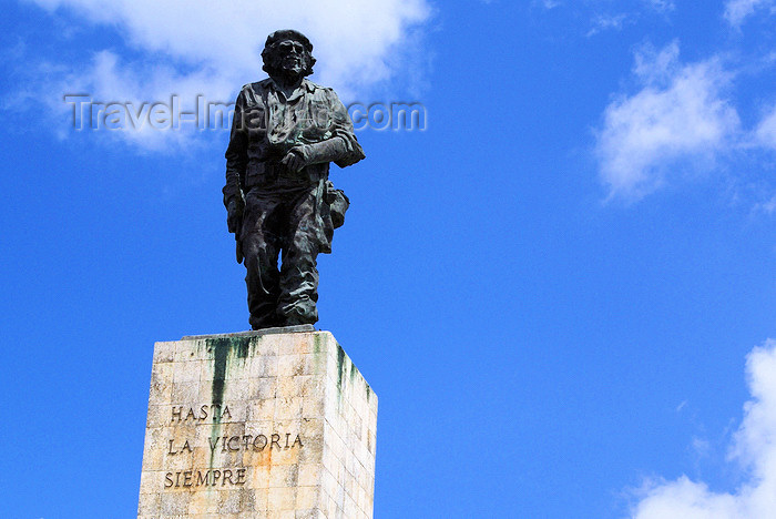 "cuba141: Santa Clara, Villa Clara province, Cuba: Che's statue - Monument and Mausoleum of Ernesto ""Che"" Guevara - Plaza de la Revolución - Mausoleo Che Guevara - photo by A.Ferrari - (c) Travel-Images.com - Stock Photography agency - Image Bank"