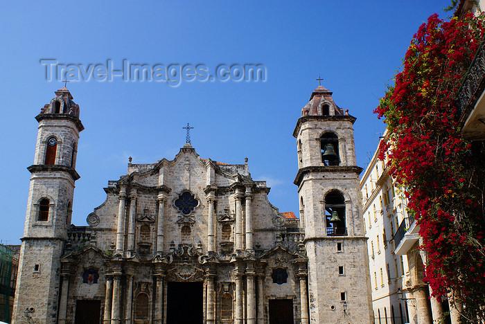 cuba18: Havana, Cuba: Cathedral of San Cristobal de la Habana - Unesco world heritage site - photo by  A.Ferrari - (c) Travel-Images.com - Stock Photography agency - Image Bank