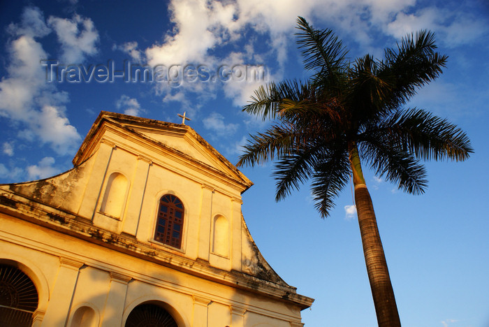 cuba23: Trinidad. Cuba: Church of the Holy Trinity - Iglesia Parroquial de la Santisima Trinidad - Plaza Mayor - Unesco world heritage site - photo by A.Ferrari - (c) Travel-Images.com - Stock Photography agency - Image Bank
