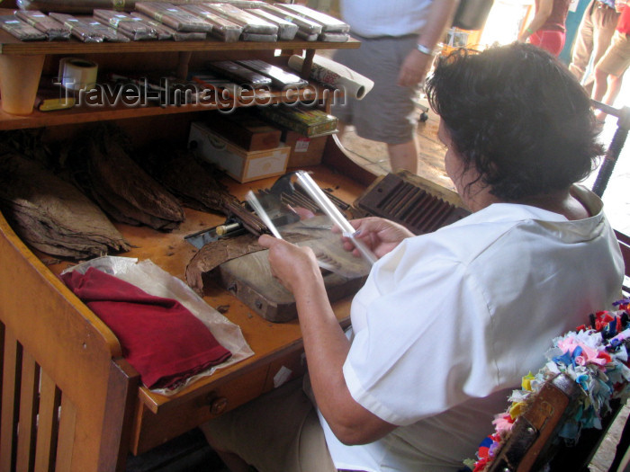 cuba24: Cuba - Trinidad / TND: worker making cigars - photo by L.Gewalli - (c) Travel-Images.com - Stock Photography agency - Image Bank