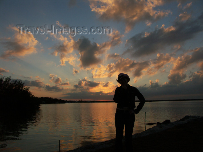 cuba49: Cuba - Guardalavaca - silhouette at sunset - photo by G.Friedman - (c) Travel-Images.com - Stock Photography agency - Image Bank