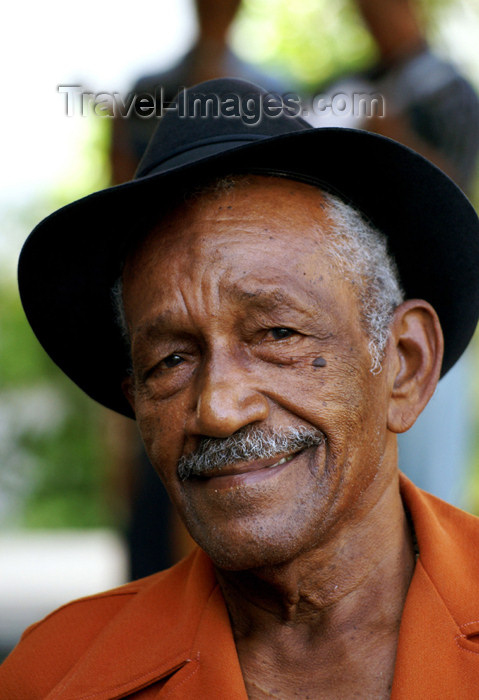 cuba84: Cuba - Holguín - Uncle with Orange Jacket - photo by G.Friedman - (c) Travel-Images.com - Stock Photography agency - Image Bank