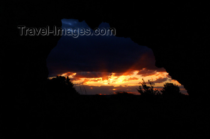 cyprus110: Paphos, Cyprus: sunset at the tomb of the kings - photo by A.Ferrari - (c) Travel-Images.com - Stock Photography agency - Image Bank