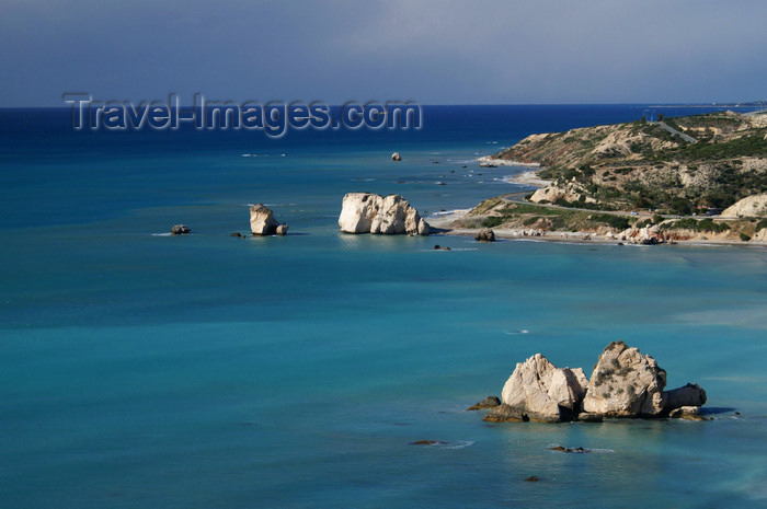 cyprus112: Petra Tou Romiou - Paphos district, Cyprus: view from above - photo by A.Ferrari - (c) Travel-Images.com - Stock Photography agency - Image Bank