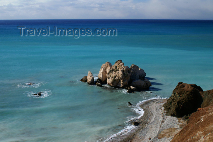 cyprus113: Petra Tou Romiou - Paphos district, Cyprus: view from above - limestone rock formation - photo by A.Ferrari - (c) Travel-Images.com - Stock Photography agency - Image Bank