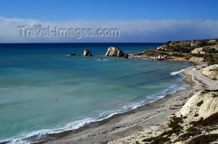 cyprus114: Petra Tou Romiou - Paphos district, Cyprus: birthplace of Aphrodite - photo by A.Ferrari - (c) Travel-Images.com - Stock Photography agency - Image Bank