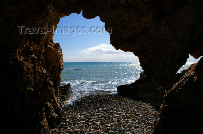 cyprus116: Petra Tou Romiou - Paphos district, Cyprus: in a cave - photo by A.Ferrari - (c) Travel-Images.com - Stock Photography agency - Image Bank