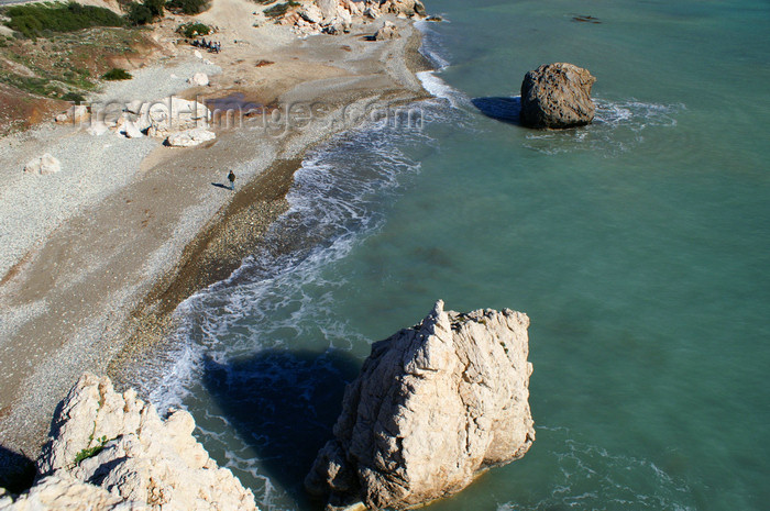 cyprus124: Petra Tou Romiou - Paphos district, Cyprus: view from the cliff - photo by A.Ferrari - (c) Travel-Images.com - Stock Photography agency - Image Bank