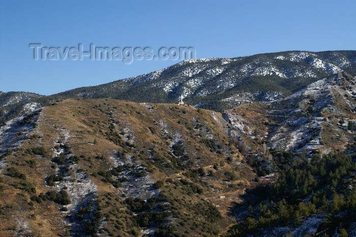 cyprus130: Troodos mountains - Nicosia district, Cyprus: Mount Olympus - photo by A.Ferrari - (c) Travel-Images.com - Stock Photography agency - Image Bank