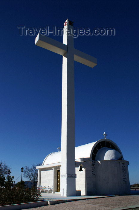 cyprus131: Pedhoulas - Troodos mountains, Nicosia district, Cyprus: modern church - photo by A.Ferrari - (c) Travel-Images.com - Stock Photography agency - Image Bank