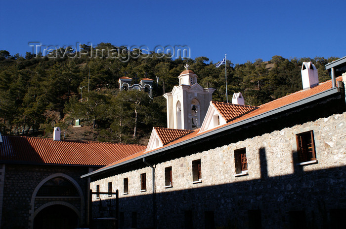 cyprus140: Kykkos Monastery - Troodos mountains, Nicosia district, Cyprus: courtyard  - photo by A.Ferrari - (c) Travel-Images.com - Stock Photography agency - Image Bank