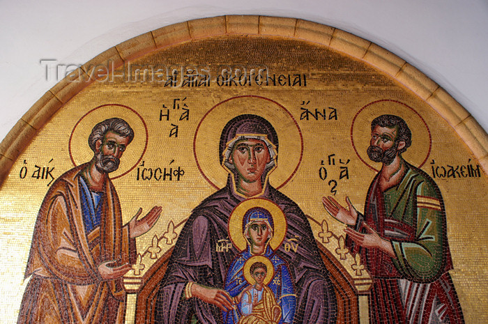 cyprus146: Kykkos Monastery - Troodos mountains, Nicosia district, Cyprus: Joseph, Mary and Jesus - photo by A.Ferrari - (c) Travel-Images.com - Stock Photography agency - Image Bank