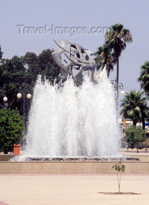 cyprus18: Cyprus - Larnaca / Larnax / LCA : flying away - fountain - photo by Miguel Torres - (c) Travel-Images.com - Stock Photography agency - Image Bank