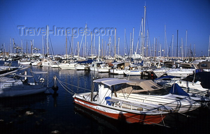 cyprus33: Cyprus  - Aiya Napa - Famagusta district - marina - photo by Tony Brown - (c) Travel-Images.com - Stock Photography agency - Image Bank