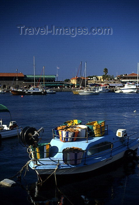 cyprus41: Cyprus  - Paphos -  the harbour - photo by Tony Brown - (c) Travel-Images.com - Stock Photography agency - Image Bank