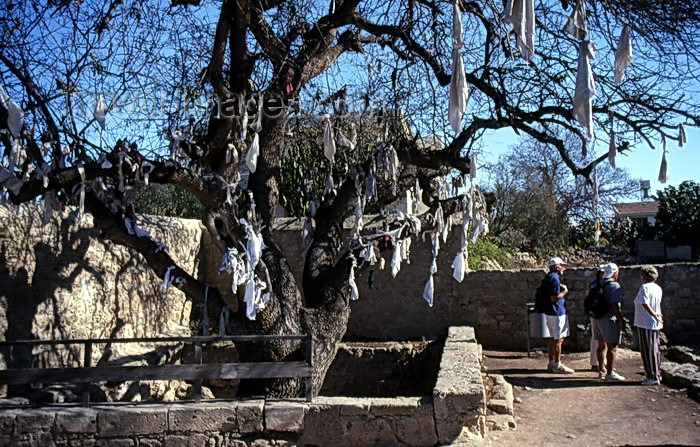 cyprus50: Cyprus  - Paphos - wishing tree - photo by Tony Brown - (c) Travel-Images.com - Stock Photography agency - Image Bank