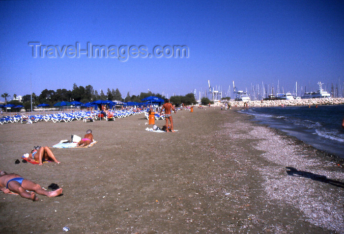 cyprus55: Cyprus - Aiya Napa - Famagusta district - beach - photo by Tony Brown - (c) Travel-Images.com - Stock Photography agency - Image Bank