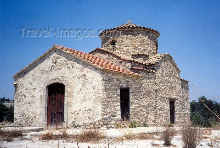 cyprus57: Cyprus - countryside church - photo by Miguel Torres - (c) Travel-Images.com - Stock Photography agency - Image Bank