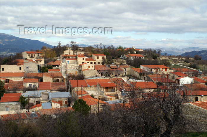 cyprus76: Lofou - Limassol district, Cyprus: view over the village - photo by A.Ferrari - (c) Travel-Images.com - Stock Photography agency - Image Bank