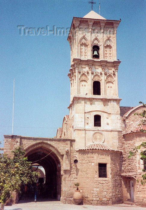 cyprus8: Cyprus - Larnaca / Larnax / LCA: Ayios Lazarus Church - the belfry - photo by Miguel Torres - (c) Travel-Images.com - Stock Photography agency - Image Bank