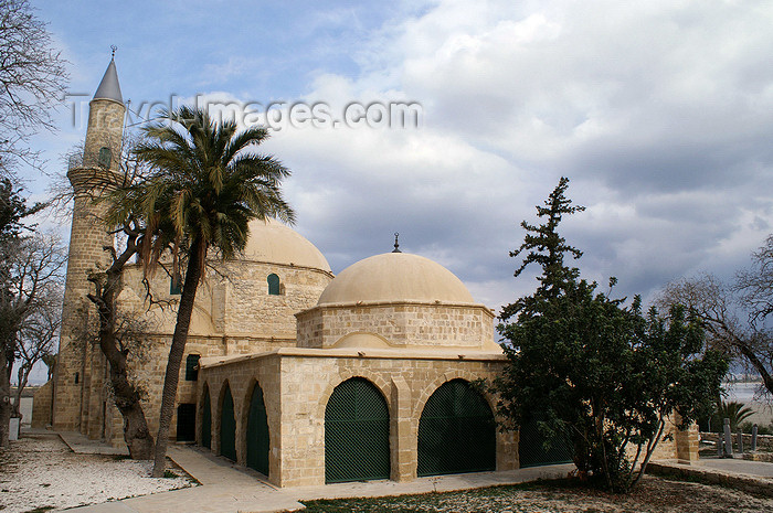 cyprus85: Larnaca, Cyprus: Halan Sultan Tekke Mosque - photo by A.Ferrari - (c) Travel-Images.com - Stock Photography agency - Image Bank