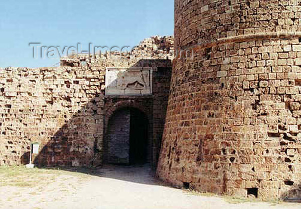 cyprusn11: North Cyprus - Famagusta: Othello tower - Venitian fortress (photo by Galen Frysinger) - (c) Travel-Images.com - Stock Photography agency - Image Bank