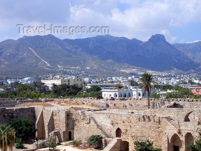 cyprusn27: Cyprus - Kyrenia / Girne: view from the castle towards the mountains (photo by Rashad Khalilov) - (c) Travel-Images.com - Stock Photography agency - Image Bank