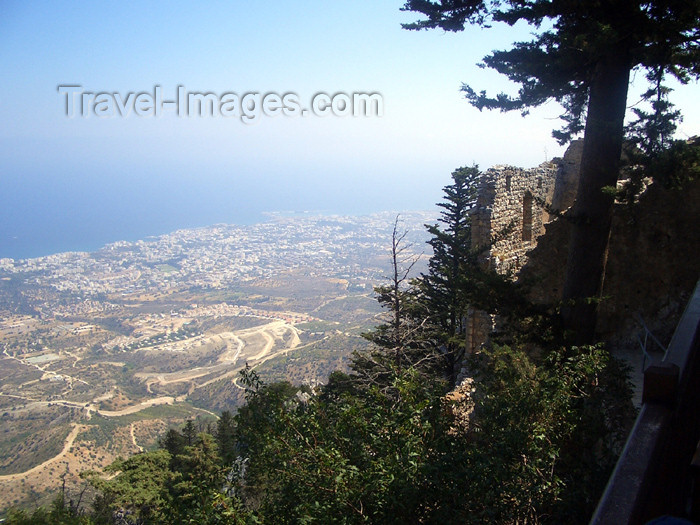 cyprusn36: Cyprus - Kyrenia / Girne: seen from St Hilarion castle II (photo by Rashad Khalilov) - (c) Travel-Images.com - Stock Photography agency - Image Bank