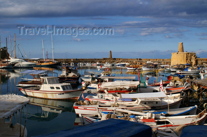 cyprusn48: Kyrenia, North Cyprus: medieval harbour - photo by A.Ferrari - (c) Travel-Images.com - Stock Photography agency - Image Bank
