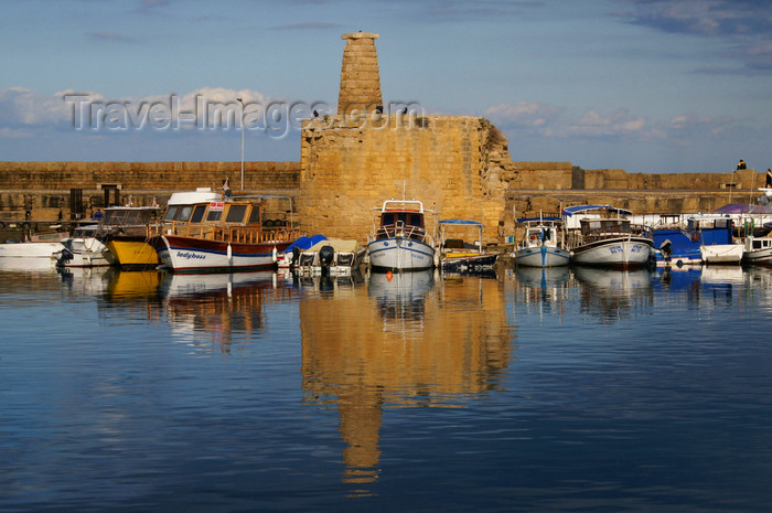 cyprusn49: Kyrenia, North Cyprus: tower in the medieval harbour - photo by A.Ferrari - (c) Travel-Images.com - Stock Photography agency - Image Bank