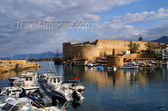 cyprusn50: Kyrenia, North Cyprus: castle and medieval harbour - photo by A.Ferrari - (c) Travel-Images.com - Stock Photography agency - Image Bank