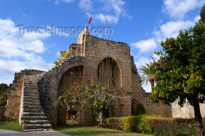 cyprusn55: Bellapais, Kyrenia district, North Cyprus: Bellapais abbey - entrance - photo by A.Ferrari - (c) Travel-Images.com - Stock Photography agency - Image Bank