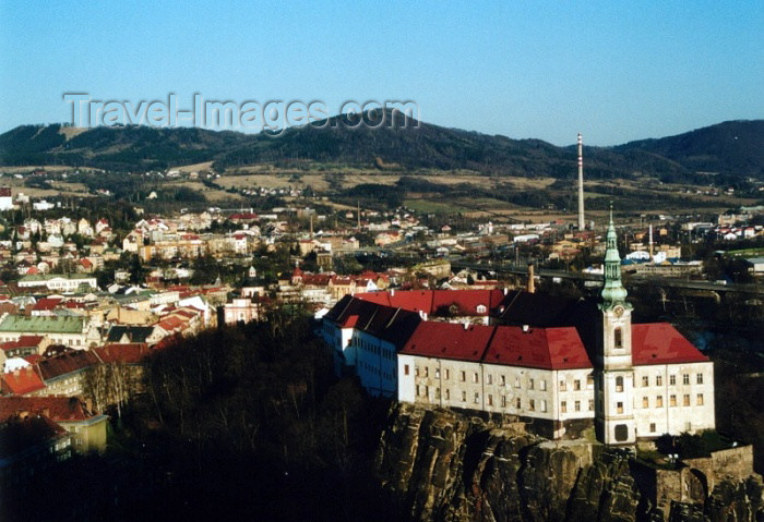 czech159: Czech Republic - Decín: from above - photo by J.Kaman - (c) Travel-Images.com - Stock Photography agency - Image Bank
