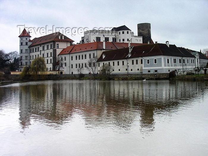 czech169: Czech Republic - Jindrichùv Hradec / Neuhaus (Southern Bohemia - Jihoceský - Budejovický kraj): the castle - photo by J.Kaman - (c) Travel-Images.com - Stock Photography agency - Image Bank