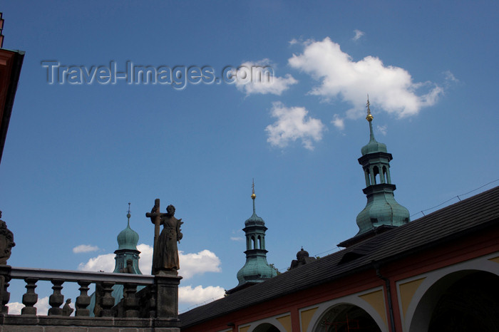czech392: Czech Republic - Príbram: Svata Hora - early Czech Baroque - photo by H.Olarte - (c) Travel-Images.com - Stock Photography agency - Image Bank