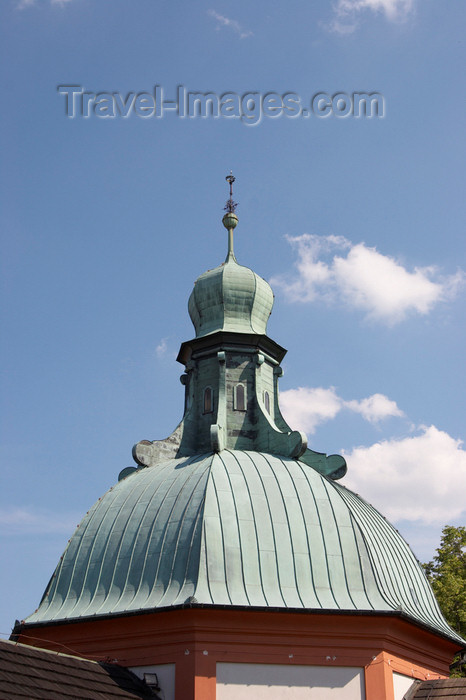 czech400: Czech Republic - Príbram: Svata Hora - Eastern dome - photo by H.Olarte - (c) Travel-Images.com - Stock Photography agency - Image Bank