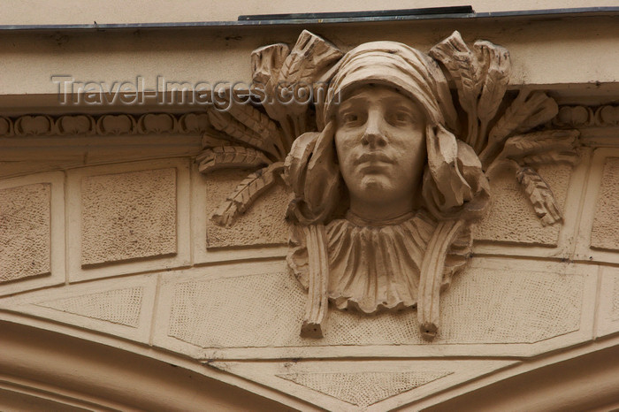czech408: Architectural detail. Prague, Czech Republic - photo by H.Olarte - (c) Travel-Images.com - Stock Photography agency - Image Bank