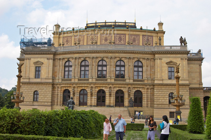 czech421: Antonin Dvorak Concert Hall, also known as the Rudolfinum. Prague, Czech Republic - photo by H.Olarte - (c) Travel-Images.com - Stock Photography agency - Image Bank