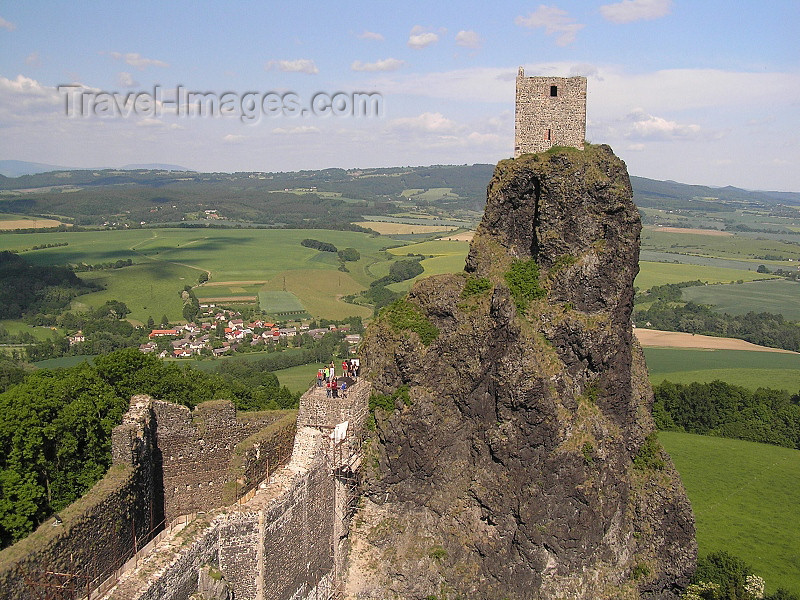 czech478: Czech Republic - Trosky Castle / Hrad Trosky: built in thr14th century - Bohemian Paradise - Semily District - Liberec Region - photo by J.Kaman - (c) Travel-Images.com - Stock Photography agency - Image Bank