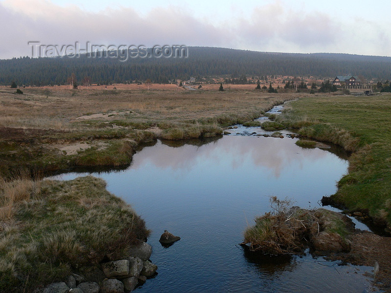 czech485: Czech Republic - Jizera Mountains / Jizerske hory: stream and pond - Liberec Region - photo by J.Kaman - (c) Travel-Images.com - Stock Photography agency - Image Bank
