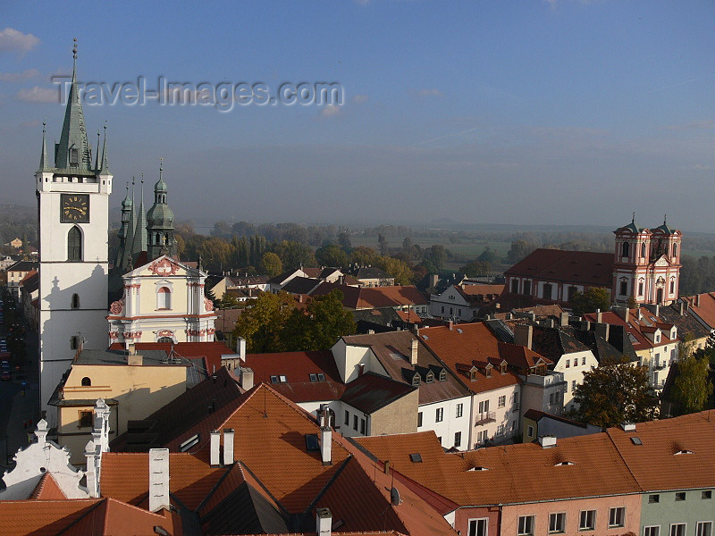 czech495: Czech Republic - Litomerice: town as seen from Kalich lookout - Usti nad Labem Region - photo by J.Kaman - (c) Travel-Images.com - Stock Photography agency - Image Bank