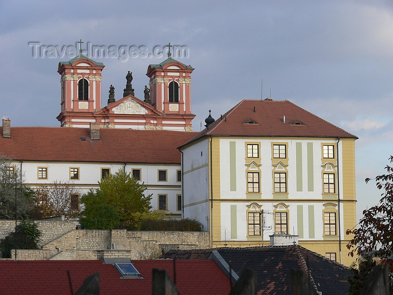 czech497: Czech Republic - Litomerice: Church of Annunciation of Our Lady - Usti nad Labem Region - photo by J.Kaman - (c) Travel-Images.com - Stock Photography agency - Image Bank