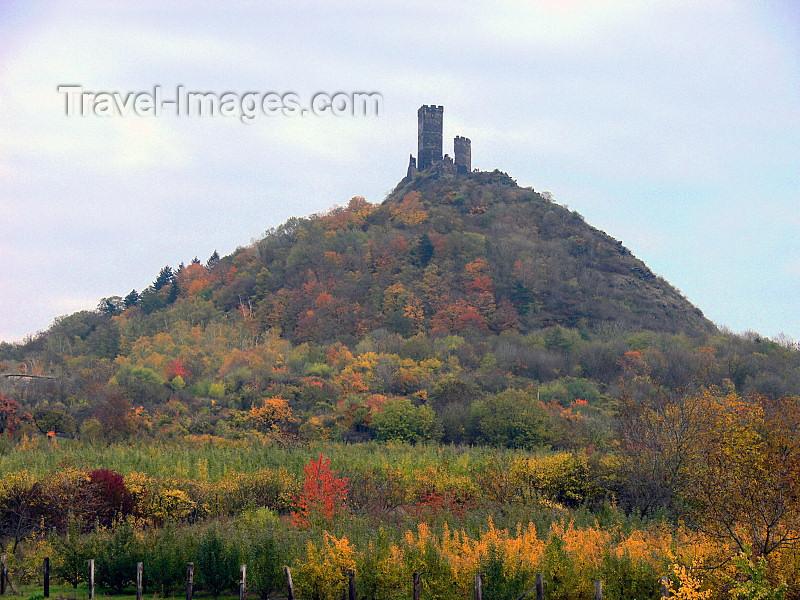 czech505: Czech Republic - Ceske Stredohori mountains: Hazmburk castle hill - Usti nad Labem Region - photo by J.Kaman - (c) Travel-Images.com - Stock Photography agency - Image Bank