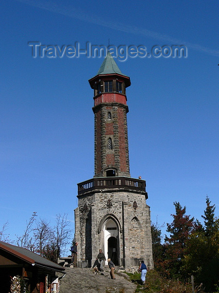 czech530: Czech Republic - Krkonose mountains: Stipanka lookout tower - Hradec Kralove Region - photo by J.Kaman - (c) Travel-Images.com - Stock Photography agency - Image Bank