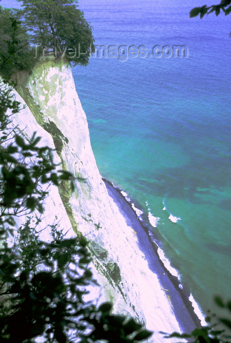 denmark34: Møn island, Vordingborg, Zealand, Denmark: Møns Klint - Cliffs of Møn - white chalk cliffs and the Baltic sea, elevated view - photo by K.Gapys - (c) Travel-Images.com - Stock Photography agency - Image Bank