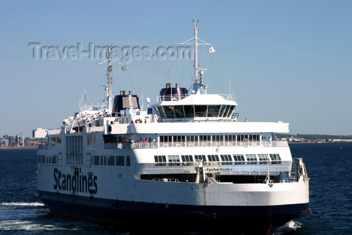 denmark40: Denmark -  Helsingør: the ferry from Helsingborg arrives - photo by C.Blam - (c) Travel-Images.com - Stock Photography agency - Image Bank