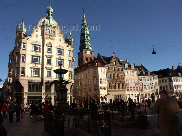 denmark68: Denmark - Copenhagen / København / CPH: Amagertorv façades - photo by G.Friedman - (c) Travel-Images.com - Stock Photography agency - Image Bank